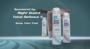 Right Guard: This particular commercial involved creating a parachute made form money - so we used some dynamics techniques which are based on real world physics to achieve this. All good fun